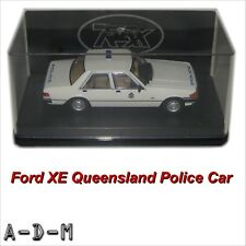 Ford XE Falcon Sedan Queensland Police TRAX TR85C 1:43 Scale Diecast Model Car