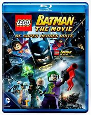NEW BLU RAY  // LEGO BATMAN THE MOVIE //  ENGLISH & FRENCH LANGUAGES