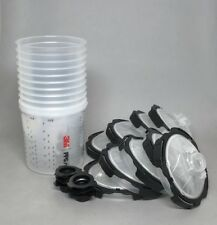 3M PPS Series Ver 2.0 Starter Cup Kit Medium 22 oz 200 Micron Filter READ DESC!!