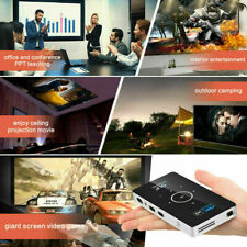 Mini 5500 US Lumens HD 1080P DLP Android Home Cinema Projector 4K Wifi HDMI SD