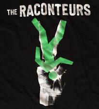 The Raconteurs 2019 Tour Band Shirt, 'Help Us Stranger',Black, Unisex, Men's Med