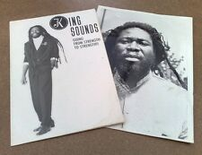 """KING SOUNDS """" GOING FROM STRENGTH TO STRENGTH """" RARE PROMO PACK 4 UK LP VZA 001"""