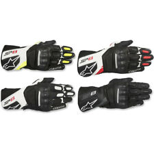 2019 Alpinestars SP-8 Touchscreen Leather Motorcycle Gloves - Pick Size/Color