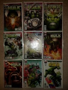 MARVEL COMICS LOT: INCREDIBLE HULK  #709-717 (2017) - WORLD WAR HULK II