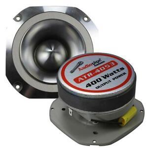 Audiopipe ATR4053 400W Aluminum Tweeter Diamond Chrome Cutting Finish Each