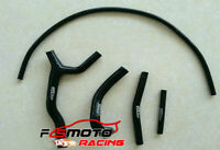 Silicone Radiator Hose Y KIT FOR SUZUKI RM 125 RM125 1992-1995 1993 1994 black