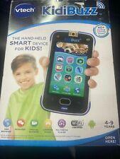 VTech 80-169500 KidiBuzz Smart Device Toy Phone for Kids -Black/Blue