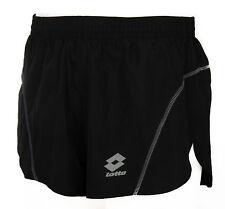 Pantalone corto runner uomo short LOTTO art. L0695 taglia M col. NERO BLACK