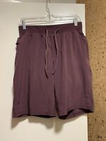 "NWOT Lululemon Mens THE Short 9"" Lined with Luxtreme Sz Small Maroon Color"