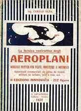 AERONAUTICA - Aeroplani 1931 2^ Ed. Lavagnolo Camillo Silva - DVD