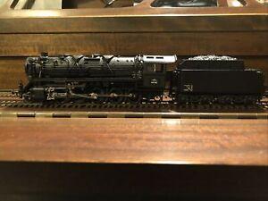 Roco HO BR44 German Dampflokomotive Series 150 (black trim) #44542 NIB