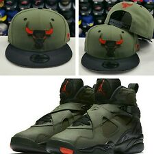 Matching New Era NBA Chicago Bulls 9Fifty snapback Hat for Jordan 8 UNDEFEATED