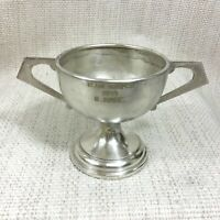 1959 Vintage Motor Car Rally Trophy Cup Team Winner T Hare Silver Plate