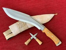British Gurkha Afghan Issue Khukuri Kukri Knife 11 Inch Full Flat Tang White