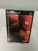 Spiderman 2 PS2 PlayStation 2 Game Black Label Complete
