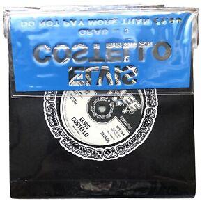 "ELVIS COSTELLO 1981 STIFF LIMITED EDITION GRAB 3 4 7"" VINYL RECORD SINGLES PACK"