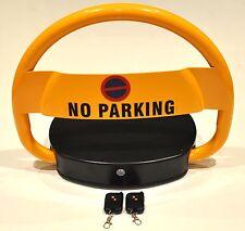 Remote Control Car Park Barrier Bollard. All Metal Parking Lock
