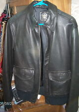 Giorgio Beverly Hills ~ Men's Leather Jacket Size 38 (?) ~ NWOT ~See Description