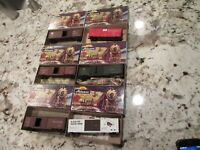 """Lot of 6 Athearn Trains Vintage in Box HO Scale Freight Cars 7"""" long IN BLUE BOX"""