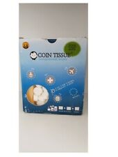 Coin Tissue 500 pcs - compressed towel, 100% Rayon, eco-friendly, ISO 90001
