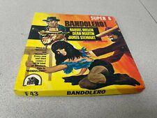 BANDOLERO 400 ft Colour Sound Super 8 Cine film Raquel Welch Dean Martin
