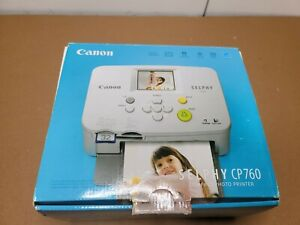 Canon Selphy CP760 Compact Photo Printer COMPLETE with Manual