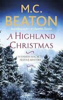 A Highland Christmas (Hamish Macbeth) by Beaton, M.C., NEW Book, FREE & FAST Del