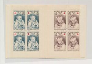 LO38058 France 1965 children & babies red cross good booklet MNH