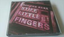 STIFF LITTLE FINGERS - ALL THE BEST double Fat case  CD album