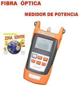 MEDIDOR de POTENCIA ÓPTICA multiventana 850nm 980nm 1300nm 1310nm 1490nm 1550nm