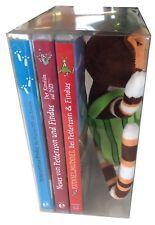 3 DVDs * PETTERSSON UND FINDUS (3 KINOFILME) + PLÜSCHTIER IM SET # NEU OVP &