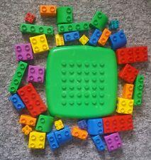 Lego Quatro Play Bricks - Including Baseplate - 39 Various Pieces