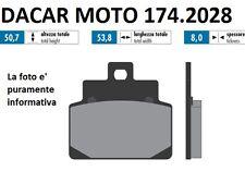 174.2028 PLAQUETTE DE FREIN SINTERED POLINI APRILIA SR 125/150