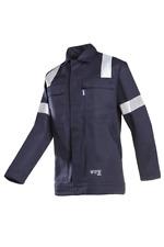 SIOEN 002VA2PIFB98064 Novara Anti-Static Offshore Jacket, Flame Retardant 3XL
