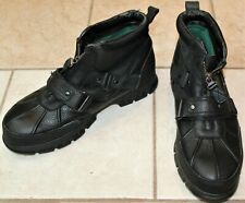 Polo Ralph Lauren Dover III Mens Boots Briarwood - Black - Size 13D