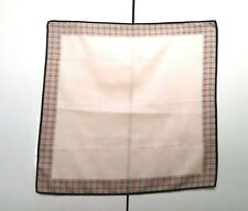 Burberry Bandana Pocket Square Mini Scarf Handkerchief Neckerchief Nova Check