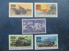 U.S. TANKS of World War II Stamp Collection