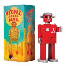 Saint John Estaño juguetes robot gigante Atómico Rojo SJ020010