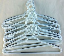 JOHN LEWIS WHITE COAT CLOTHES HANGERS, PACK OF 10