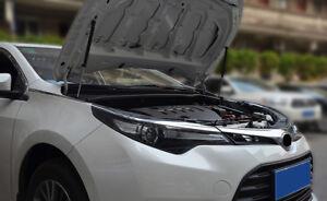 Engine Hood Lift Support Shock Strut Damper 2pcs For Toyota Corolla 2014 - 2017