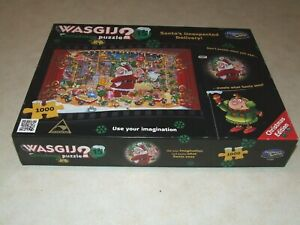 WASGIJ? Christmas Puzzle 15 - 1000 Piece Jigsaw Puzzle - Complete