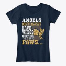 American Bobtail Angels Paws Gift Women's Premium Tee T-Shirt