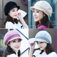 Women's Beanie Winter Crochet Ladies Slouch Warm Knitted Cap Hat Baggy Colors 4