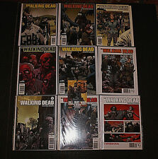 The Walking Dead Variant Limited Ed NM Issues 1 to 6, 8, 9, 11 RARE OOP + Card