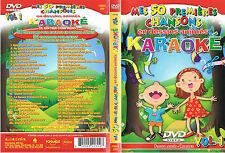 KARAOKE DVD - Mes 50 Premieres Chansons en Dessins Animés Vol 1 BRAND NEW,Canada