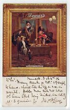 """DEWAR'S WHISKY: Tuck """"Celebrated Posters"""" advertising postcard (C15155)"""