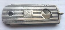 Antique Cigar Cutter Vintage Match Striker Milwaukee Streamlined Deco 1920s