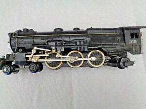 American Flyer 1952 S Gauge Very Nice Running And Smoking #315 Pacific Steam Eng