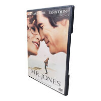Mr. Jones DVD R1 1993 Good Condition TESTED Case Damaged Richard Gere Lena Olin