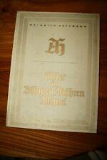 LIVRE rare édition de luxe PHOTOS HITLER HEINRICH HOFFMANN en bohème BE